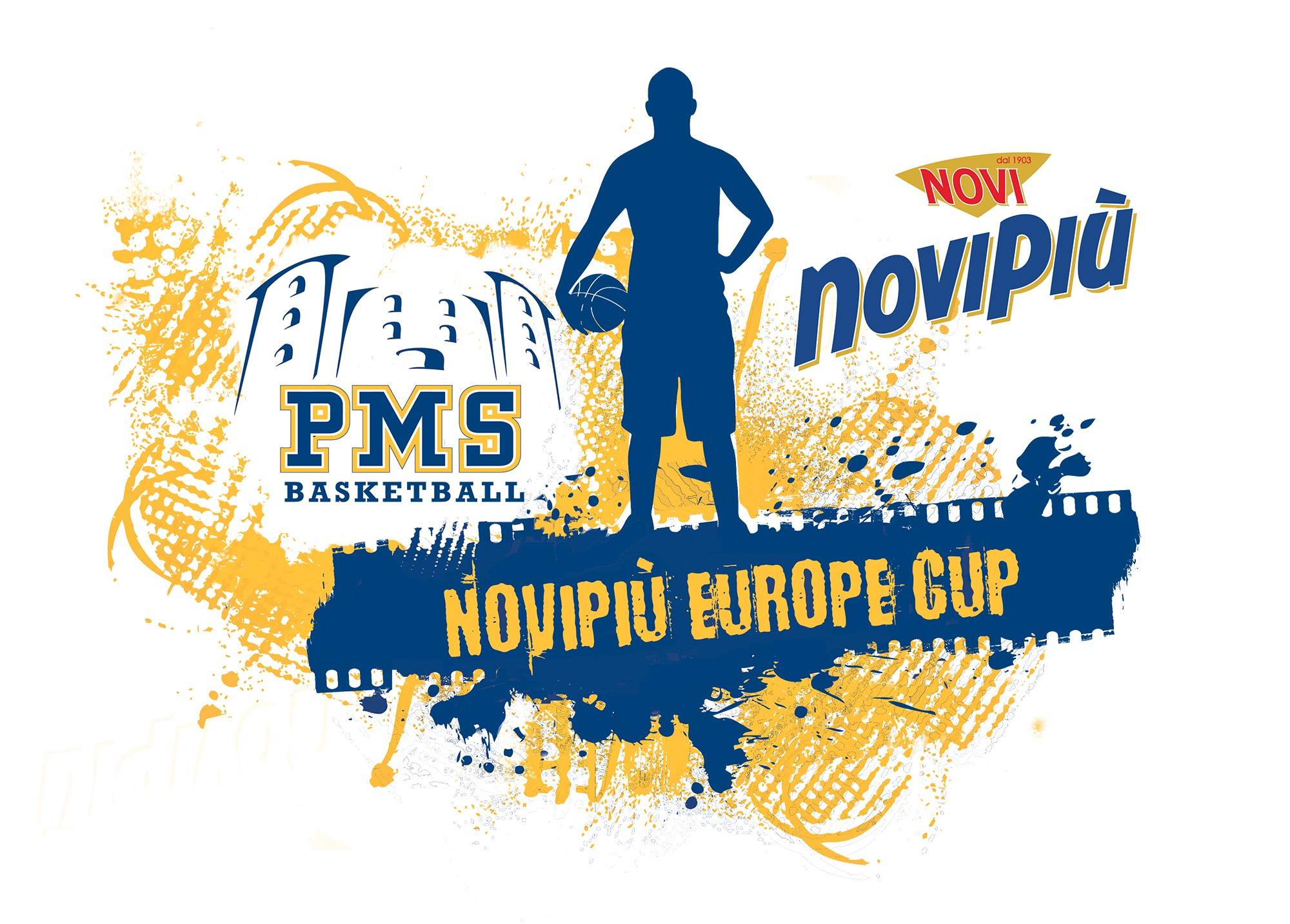 Logo Novipiù Europe Cup